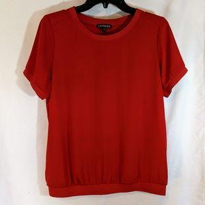 Express Crimson Top
